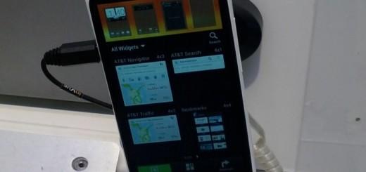 HTC One X Display Unit