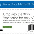Xbox 360 4GB Kinect Contract Coupon