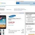Tmobile Galaxy Note No Contract $349