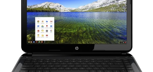 HP Chromebook - Front Facing
