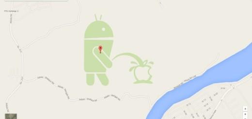 Google Maps Android Peeing on Apple