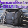 AmazonBasics Large DSLR Gadget Bag Review
