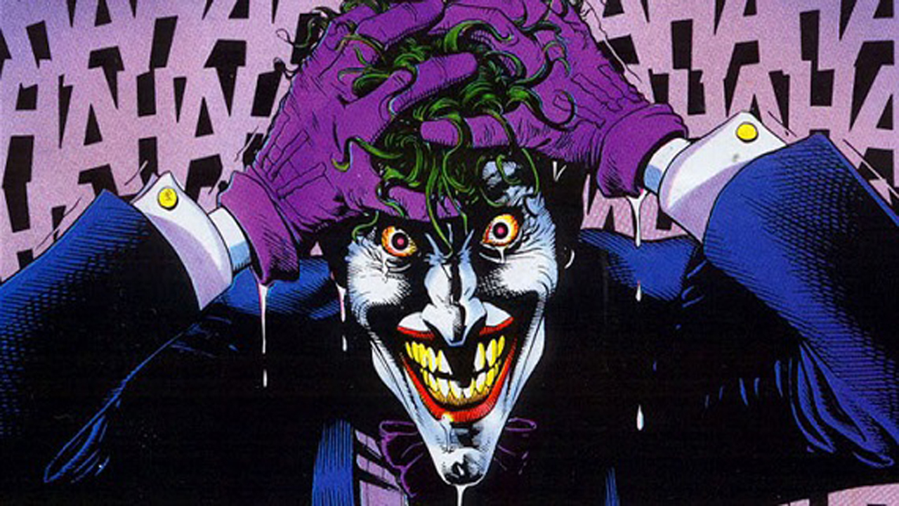 Batman The Killing Joke Joker Laugh