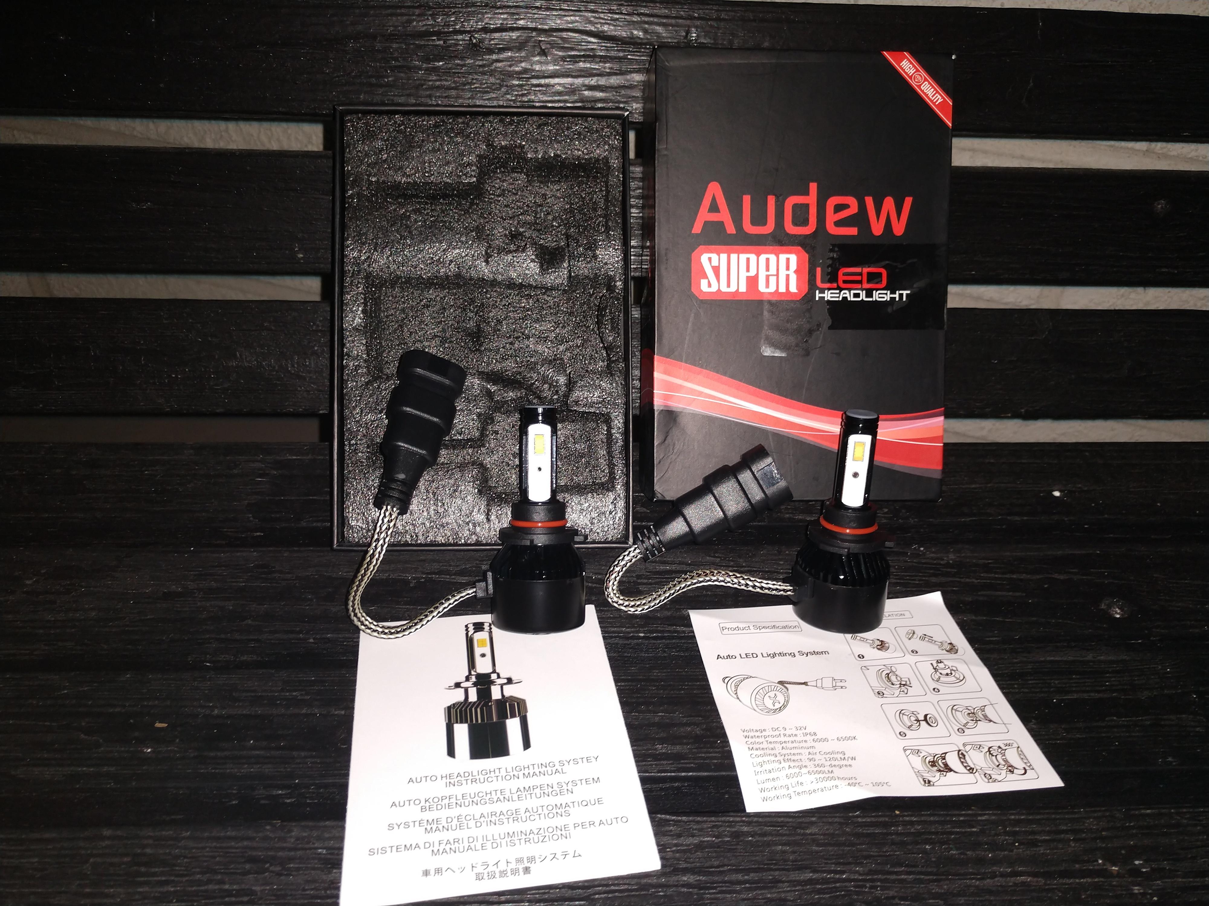 Audew led headlight kit review that s it guys